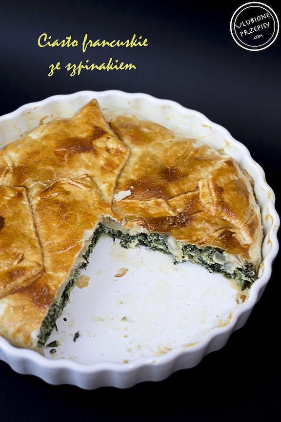 Ciasto Francuskie Ze Szpinakiem Ulubione Przepisy